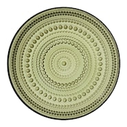 Kastehelmi Tallrik flat 17 cm Mossgrön