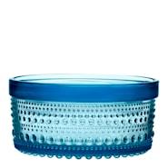 Kastehelmi Burk med lock 11x5,7 cm Ljusblå