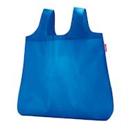 Mini Maxi Shopper Kasse med fodral Blå 15 L