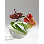 Vaser Skål/Vase fishbowl 10 cm Klar