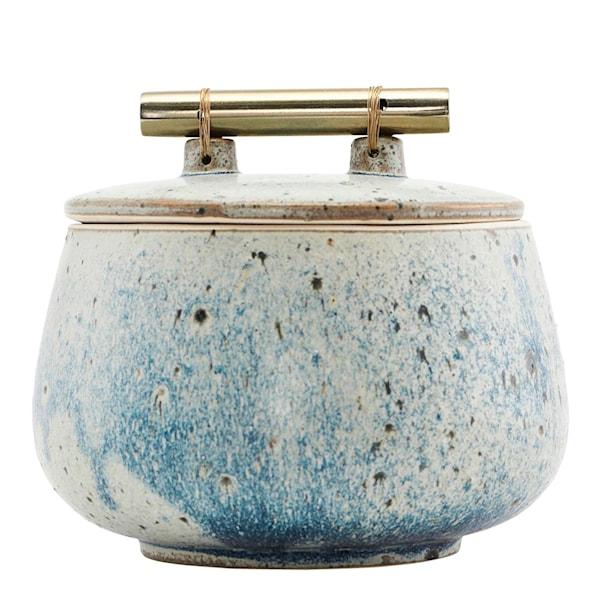 Diva Ask 14 cm Grå/blå keramik