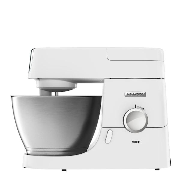 Chef Köksmaskin 4,6L med 3 tillbehör Vit
