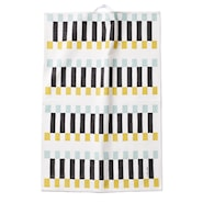 Bricks Handduk Vit/Turkos 67x48 cm
