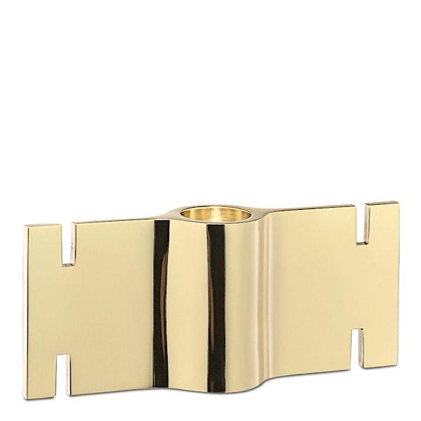 Brick Ljusstake modul Mässing 12,7 cm