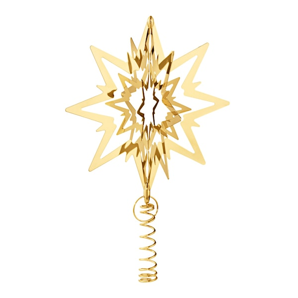 Christmas Classics Toppstjärna 18 cm Guld