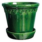 Köpenhavner Kruka/fat Grön emerald 14 cm