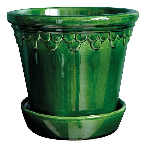 Köpenhavner Krukke/skål 14 cm Grønn