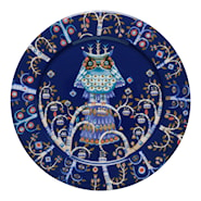 Taika Tallerken flat 27 cm Blå