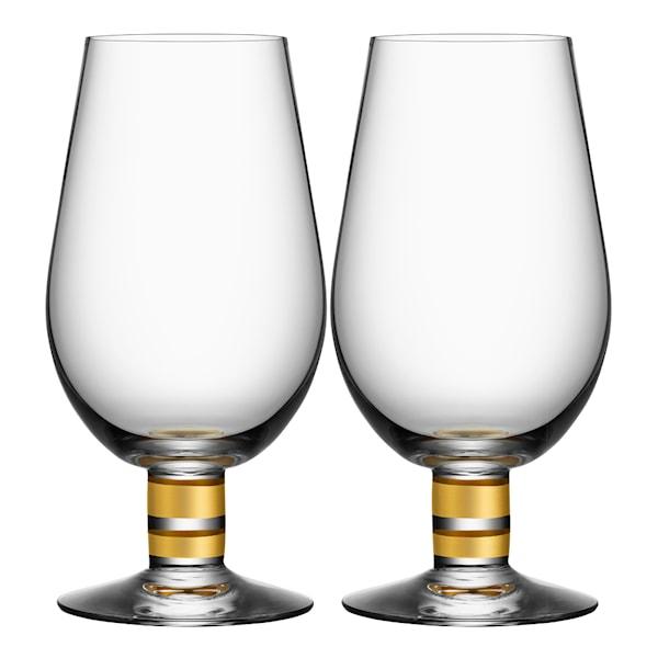 Morberg Exclusive Ölglas guld 63 cl 2-pack
