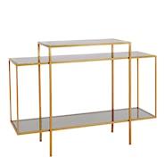 Winton Bord Metall/Glas 120x40 cm