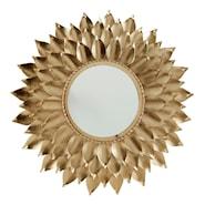 Sol Spegel Guld 72 cm