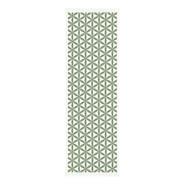 Kylee Löpare Grönt mönster 48x150 cm
