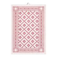 Handduk Åttebladsros-03 35x50 cm 2-pack