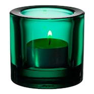 Kivi Ljuslykta Smaragd 6 cm