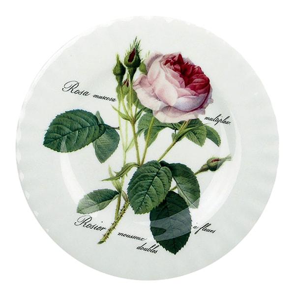 Redoute Roses Tallrik flat 20 cm