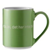 Astrid Lindgren Mugg Grön Jag har en ärta i näsan