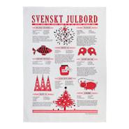 Svenskt julbord 50x70 cm