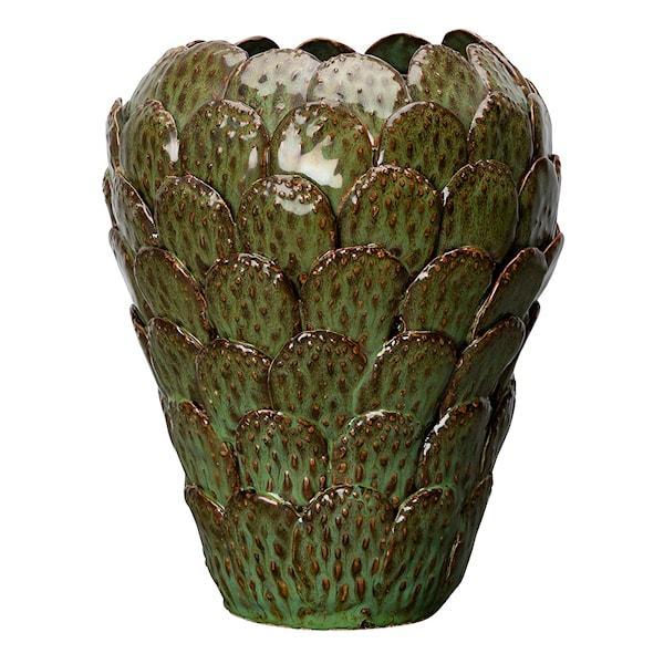 Calypso Vas Grön Keramik 20x25 cm