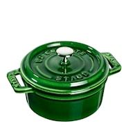 Gryta 0,25 L rund Grön