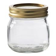 Oppbevaringsglass 0,25 L konservering skrulokk