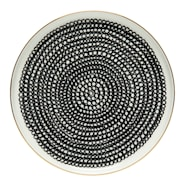 Räsymatto Tallrik flat Guldkant 20 cm