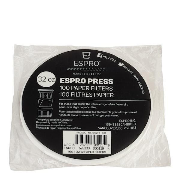 Pappersfilter till kaffepress 8 koppar