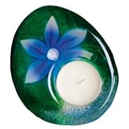 Delight Ljuslykta Blomma 12cm Blå