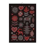 Handduk Julnatt 35x50 cm