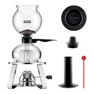 Pebo Sett Kaffebrygger 8 kopper + Brenner + Tilbehør