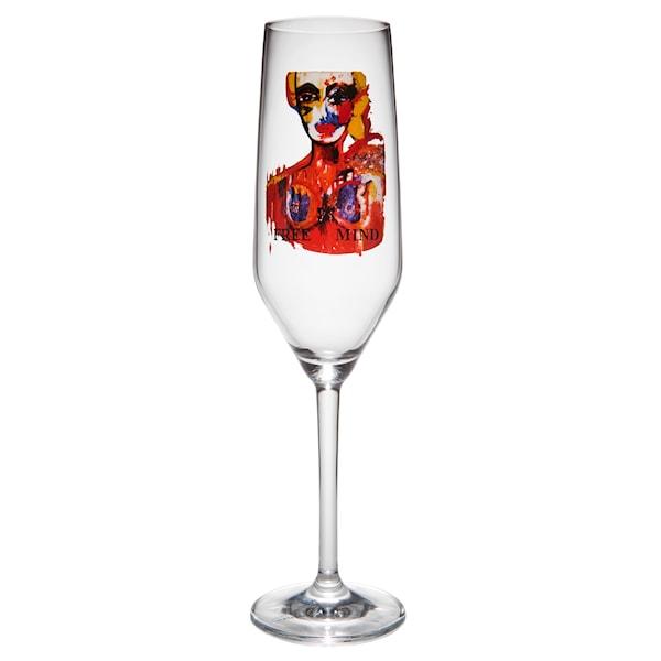 Champagneglas 30 cl Free Mind