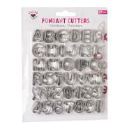 Utstickare alfabet/siffror