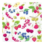Servett Fruits of Summer 33x33 cm