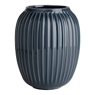 Hammershöi Vase 20 cm Antracittgrå