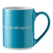 Astrid Lindgren Mugg Turkos Det är konstigt med mig