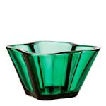 Alvar Aalto Collection Skål Smaragd 7,5 cm