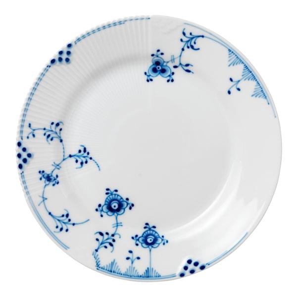 Blue Elements Tallrik flat 22 cm