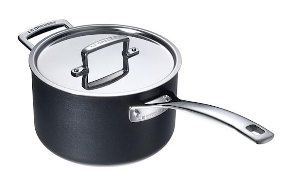 Toughened Steel Professional Kastrull med lock 1,9 L